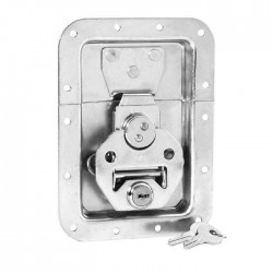 17250 LS Butterfly Latch large, with Spring, lockable, 14 mm deep