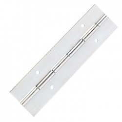 2605 Piano Hinge steel pre-drilled