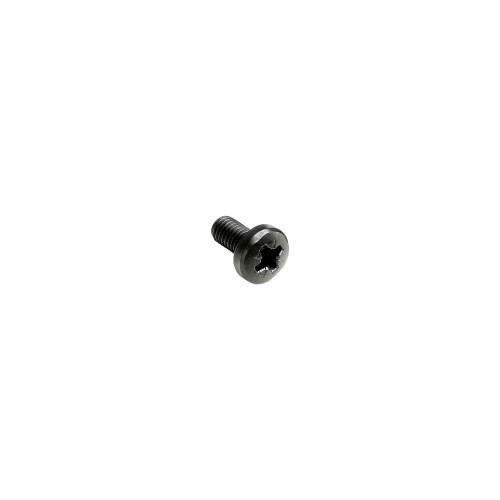 5417 BLK cross-head screw M6x12 mm black