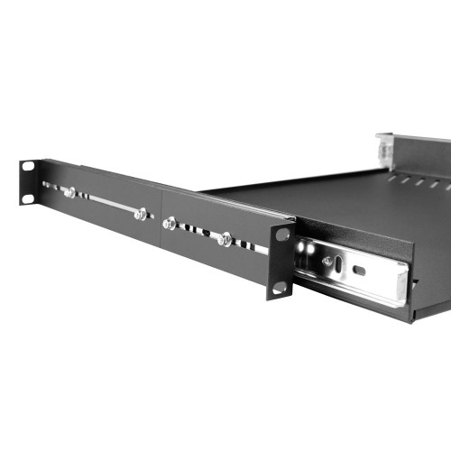87556 19-inch rack cradle (for laptop) 1U with drawer rail-slides