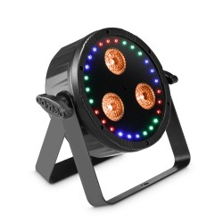 Cameo FLAT STAR Flat 2-in-1 RGBWA+ UV PAR Light with RGB Ring