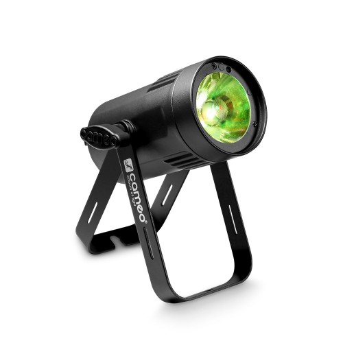 Cameo Q-SPOT 15 RGBW Compact Spot Light With 15W RGBW LED In Black Housing
