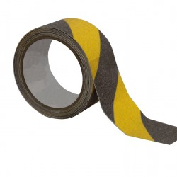 5804_3000575K Anti-Slip Adhesive Marking-Tape yellow-black, 50mm x 18m