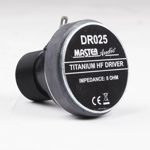 DR-025 Compression driver with thread, 25mm, 1-inch
