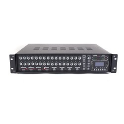 MX4412 Matrix mixer amplifier with MP3 player and BLUETOOTH