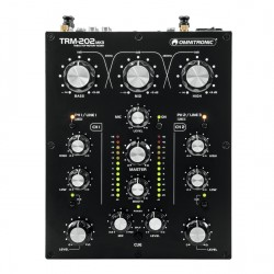 OMNITRONIC TRM202MK3 2-Channel Rotary Mixer