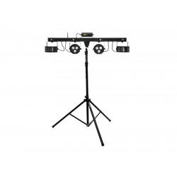 EUROLITE Set LED KLS Laser Bar FX Light Set + M-4 Speaker-System Stand