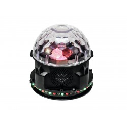 EUROLITE AKKU Mini disco-ball BCW-4 RGB Flower