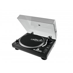 OMNITRONIC BD1390 DJ turntable + USB + recording software, black
