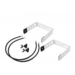 OMNITRONIC BOB-4 Extension U-Bracket white or black 2x