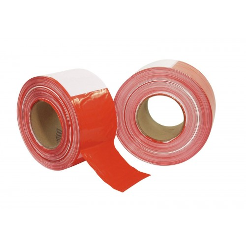 Barrier Tape red/white 500m x 75mm