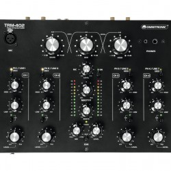 OMNITRONIC TRM402 4-Channel Rotary Mixer