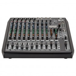 E12 RCF 12-CHANNEL MIXING CONSOLE