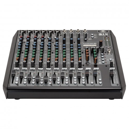 E 12 12-CHANNEL MIXING CONSOLE