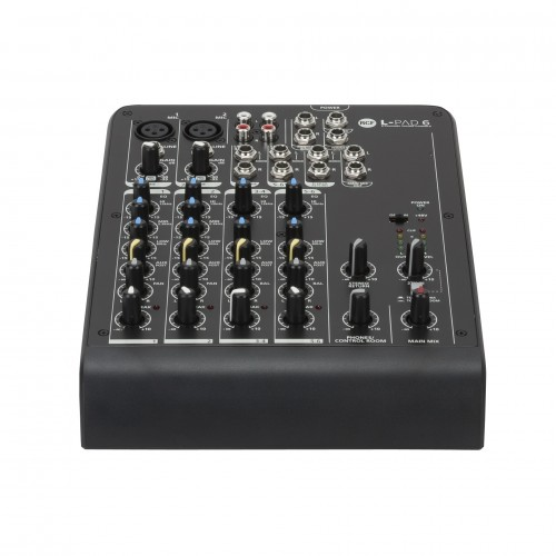 L-PAD 6 6 CHANNEL MIXING CONSOLE