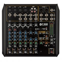 F10-XR 10-CHANNEL MIXING CONSOLE RCF