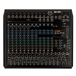 F16XR 16-CHANNEL MIXING CONSOLE WITH MULTI-FX & RECORDING
