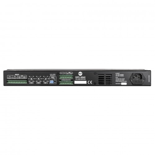 DPS604X 4-CHANNELS CLASS-D POWER AMPLIFIER WITH CROSSOVER