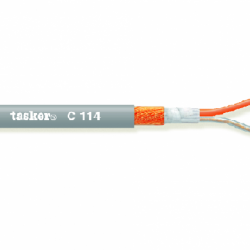 C114 – 2x0,25 mm² low capacity balanced Microphone Cable Tasker