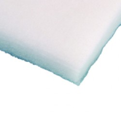 Emmac loudspeaker sound absorbtion wadding, white 30mm