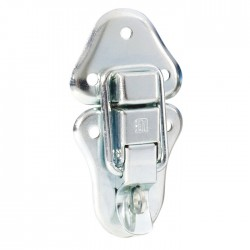 1602  Large padlocking catch zink plated steel