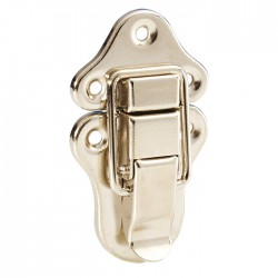 1607 Medium drawbolt Nickel plated catch