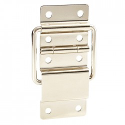 2526  Stop Hinge large nickel-plated