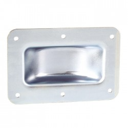 38083 recessed castor dish for wheels up to 100mm