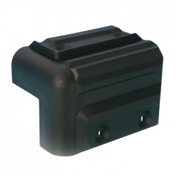 4009 cabinet corner plastic stackable black