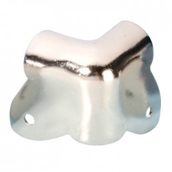 4023 case corner two-leg nickel-plated