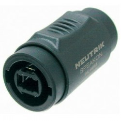 Neutrik NL4MMX - Adapter Speakon 2/4-pole to Speakon 2/4-pole
