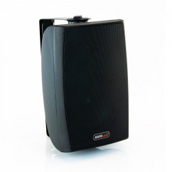BT 600B/W Two way speaker with power switch 8 Ohms / 70-100 Volts