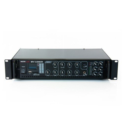 Amplifier / mixer MV1100CR with mp3 player & FM tuner