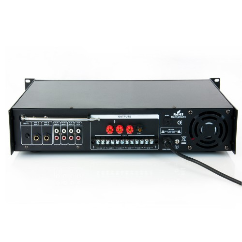 Amplifier / mixer MV6300CR with mp3 player and bluetooth