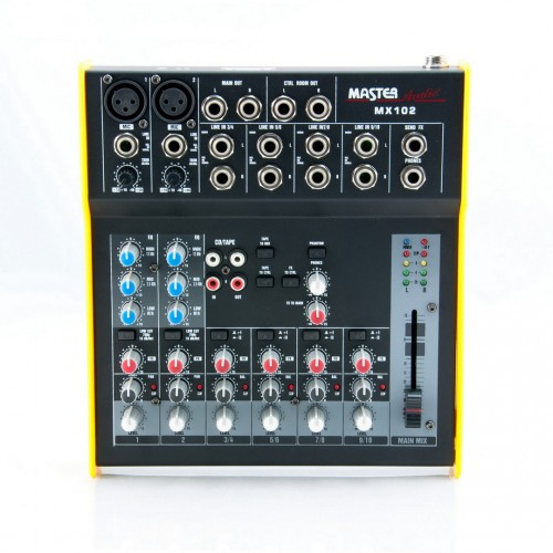 MX102 Audio Mixer 8 channels