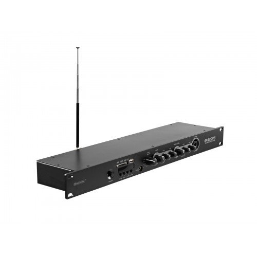 OMNITRONIC EP220PR Preamplifier with MP3 Player and FM Radio