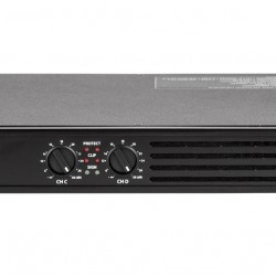 DPS 604X 4 CHANNELS CLASS D POWER AMPLIFIER WITH CROSSOVER