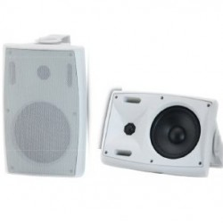 BT400 W/B Two-way fashion speaker with power switch 8 Ohms / 70-100 Volts