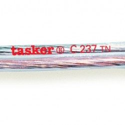 C237-TN transparent loudspeaker's cable 2x1.50 mm² Tasker