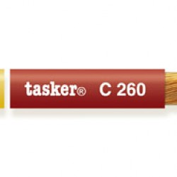 C260 Balanced microphone-cable Tasker 2x0.25 mm2 - 23 AWG red